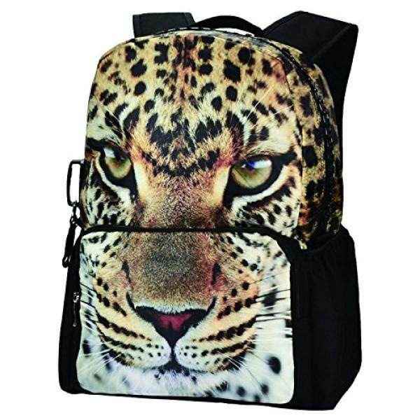 Bistar Galaxy Travel Gear Leopard Backpack, Bistar Galaxy Leopard Teenager Backpack 3D Animal Bags Girls School Rucksack BBP101 - intl