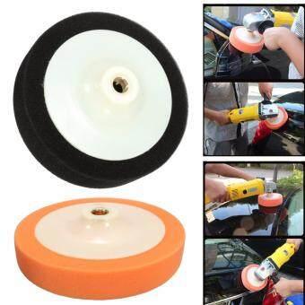 Harga yang baik Black 6'' 150mm Polishing Head Buffing Mop Pad Sponge Foam & M16 Polish Thread Drill kajian semula - Hanya RM13.06