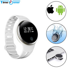 Bluetooth Smart Band Sport Waterproof Smart Bracelet Fitness Tracker Wristband For Android IOS iPhone(white) Malaysia