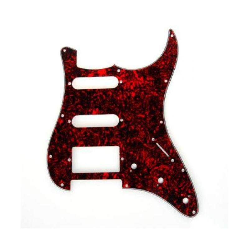 BolehDeals  Guitar Pickguard 11 Hole Red Tortoise Shell for Strat Fender Stratocaster Malaysia