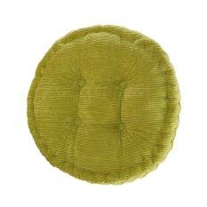 BolehDeals Round Cotton Chair Seat Cushion Pad Tatami Cushion for Home Car Office Green