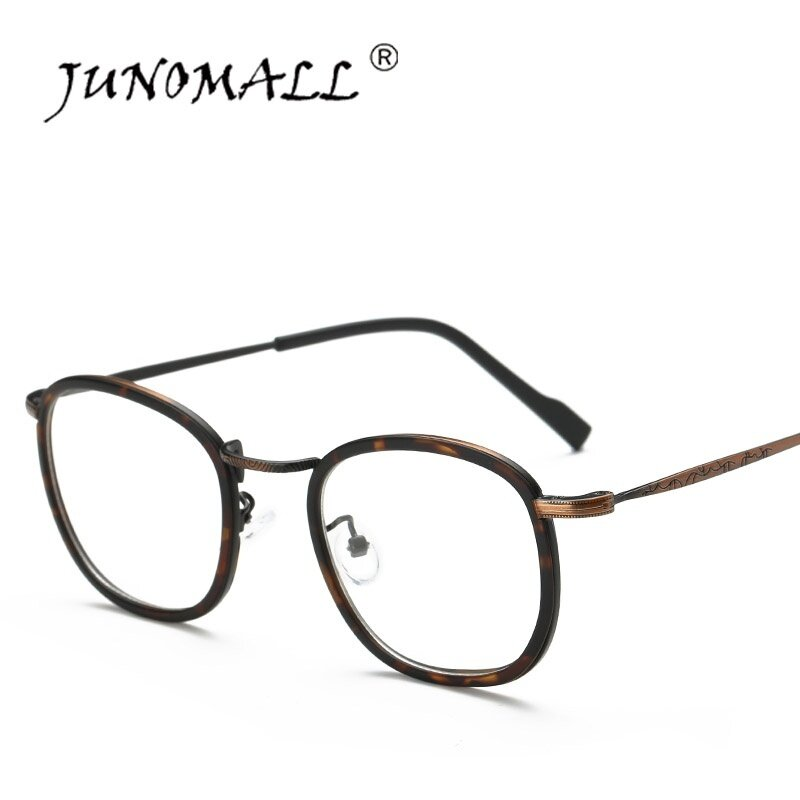 Generous High Quality Retro Unisex Fashion Full Rim Pure Titanium Ultralight Silver Gold Clear Lens Branded Optical Eyewear Eyeglasses Apparel Accessories Men's Glasses