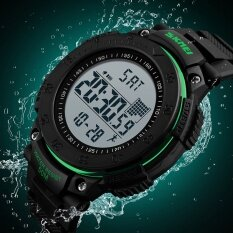SKMEI Brand Watch  LED Digital Men 50m Dive Waterproof Military Sport Watches For Multifunctional Pedometer Wristwatch1238 Malaysia
