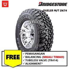 Bridgestone Dueler M/t D674 (with Installation) By Tyre2u.