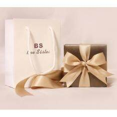BS Brand Boutique Gift Box Packaging BS Watch Box brown box Gift Bag Malaysia