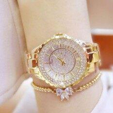[Valentines Day Gift] BS Women Brand Fashion Rhinestone Dress Wristwatch Ladies Classic Luxury Quartz Watch Malaysia