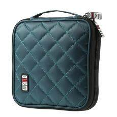BUBM CDs/DVDs Storage Bag 32 Disc Case CD DVD Wallet with Protecting Pad Storage