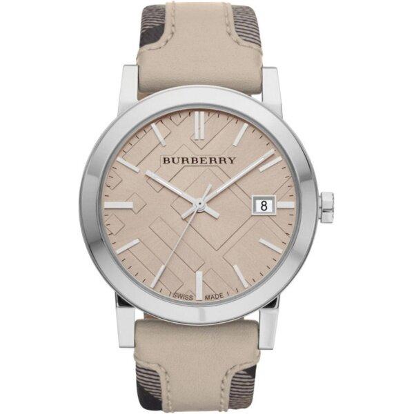 Burberry Womens Heritage Nova Check Leather Watch BU9021 Malaysia
