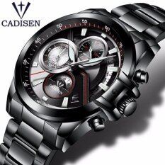 CADISEN Brand Watches men Fashion Casual Quartz Watch Man Waterproof Sports Military Stainless Steel Wrist watches Malaysia