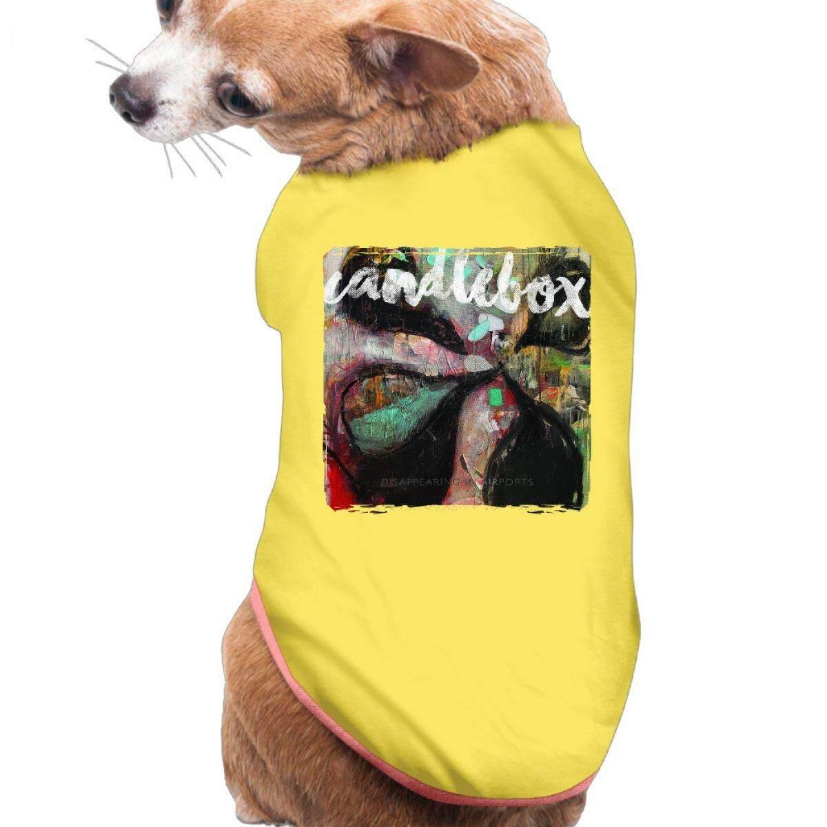 Candlebox Menghilang Di Bandara Hewan Peliharaan Persediaan Peliharaan T-shirt Anjing T Shirt-Internasional