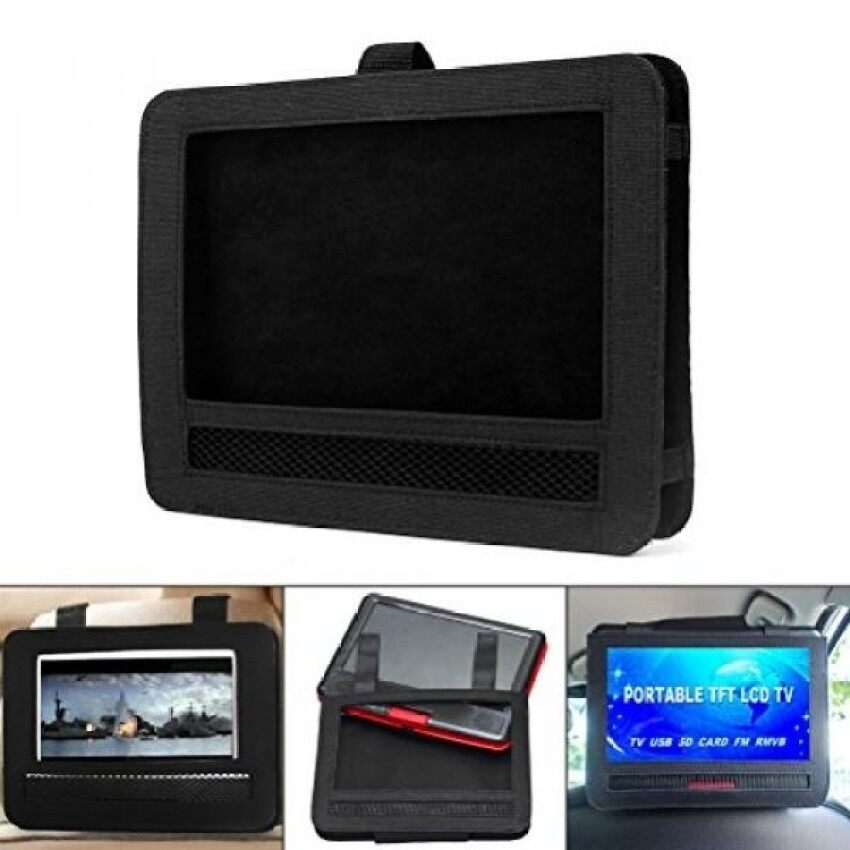 "Car DVD Player Holder.Shellvcase Car Headrest Mount Strap HolderCase For 9""Inch Portable"