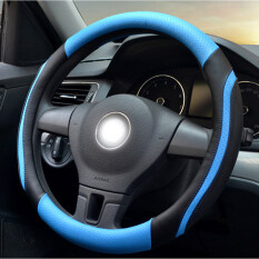 Top Rated Car Steering Wheel Sets Of All Seasons Common Breathable Fine Lines Summer Sweat And Environmental Protection L 39 40Cm