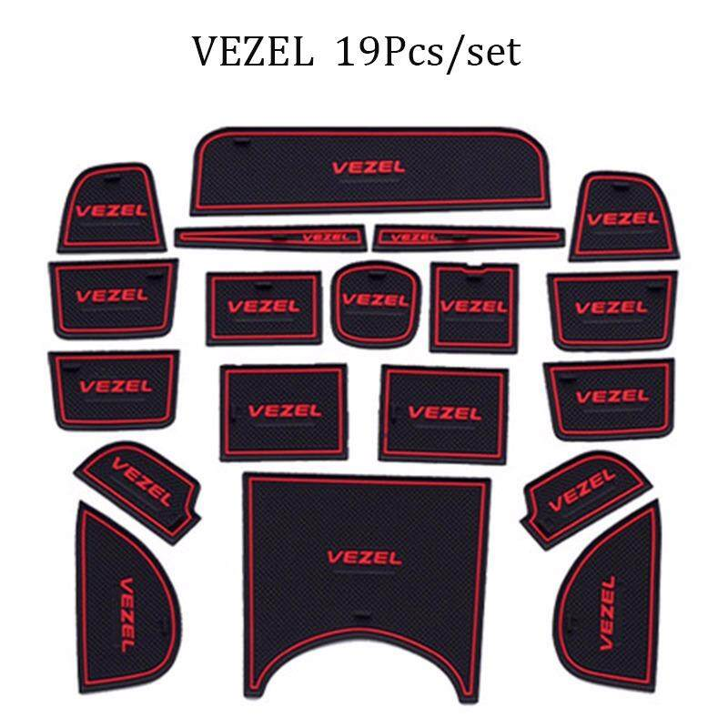Compare Prices For Car Styling Interior Door Slot Pad Gate Mat Rubber Anti Slip Pad Cushion For Honda Vezel Intl