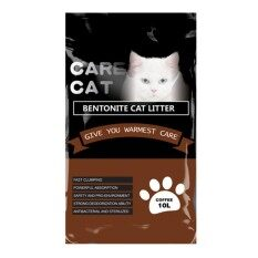 Care Cat Bentonite Cat Litter 10l Coffee X 1 By One Stop Petz Centre.