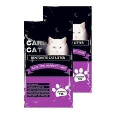 Care Cat Bentonite Cat Litter 10l Lavender X 2 By One Stop Petz Centre.