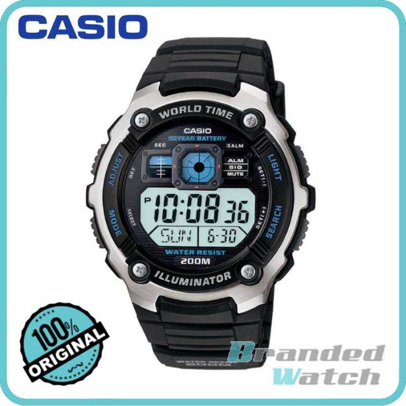 Casio AE-2000W-1AVSDF Mens Digital Resin Watch AE-2000W-1AV Malaysia