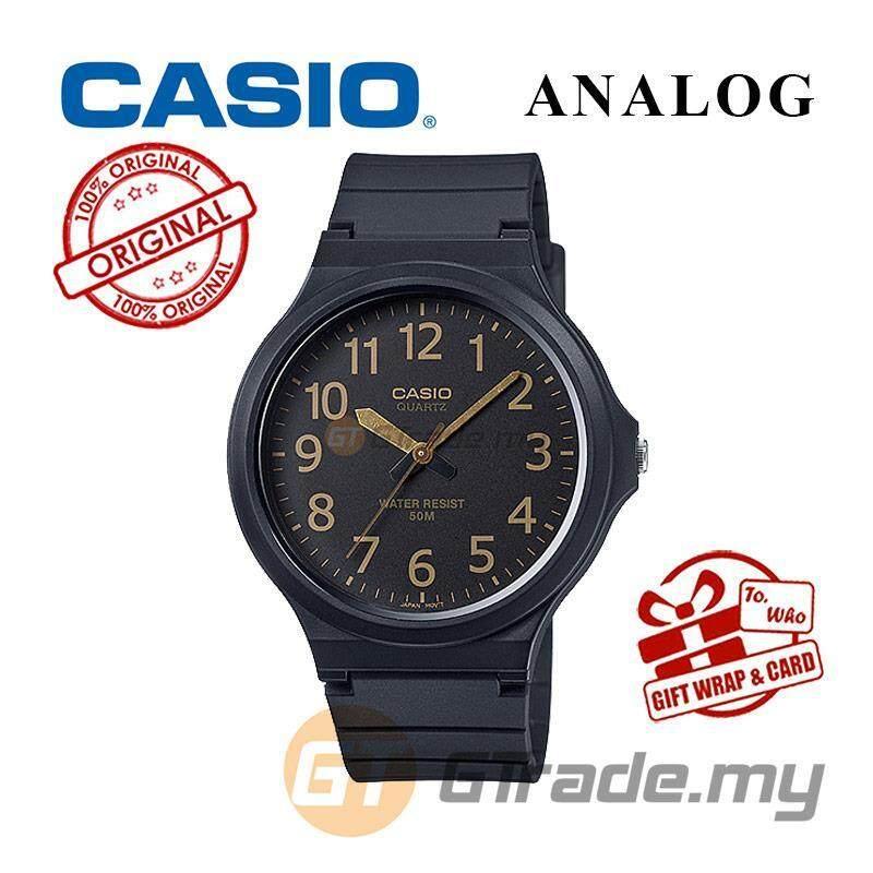 CASIO ANALOG MW-240-1B2 Mens Watch   Large Case 50m Resist Malaysia