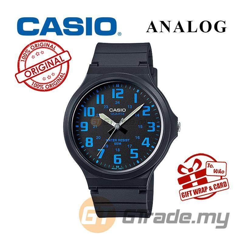 CASIO ANALOG MW-240-2B Mens Watch | Large Case 50m Resist Malaysia