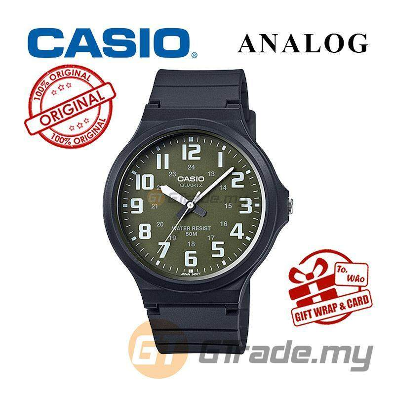 CASIO ANALOG MW-240-3B Mens Watch | Large Case 50m Resist Malaysia