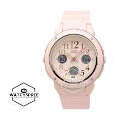 Casio Baby-G Popular Wide Face Pink Resin Band Watch BGA150EF-4B BGA-