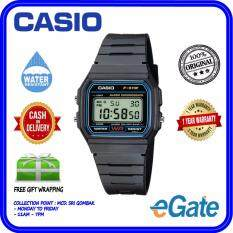 Casio F-91W-1D Men & Kids Digital Classic Black Resin Band Original Casual Watch (F-91W) Malaysia
