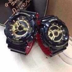 Casio G Shock Baby G Couple Stylish Watches Black Red Malaysia