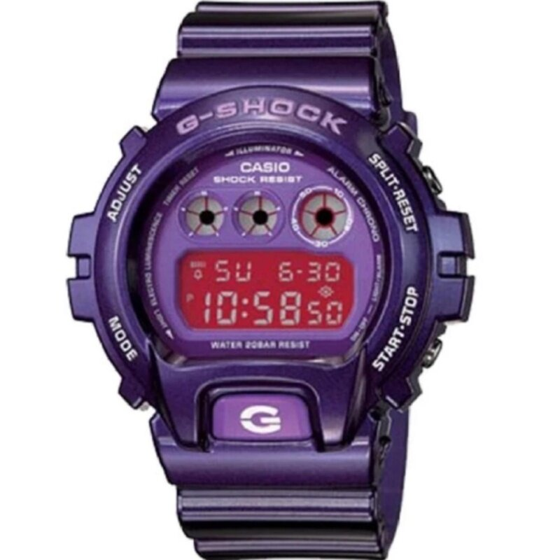 Casio G-Shock******** DW-6900CC-6 Purple Malaysia