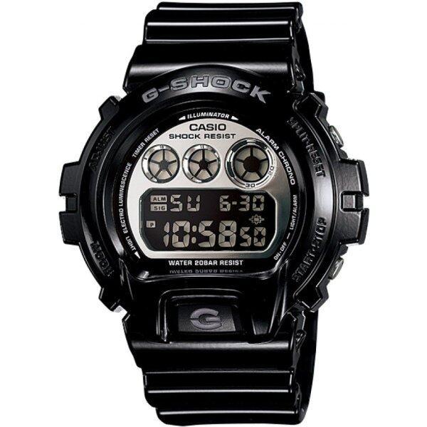 Casio G-shock Dw-6900nb-1 Mens Watch (Black and Silver) Malaysia