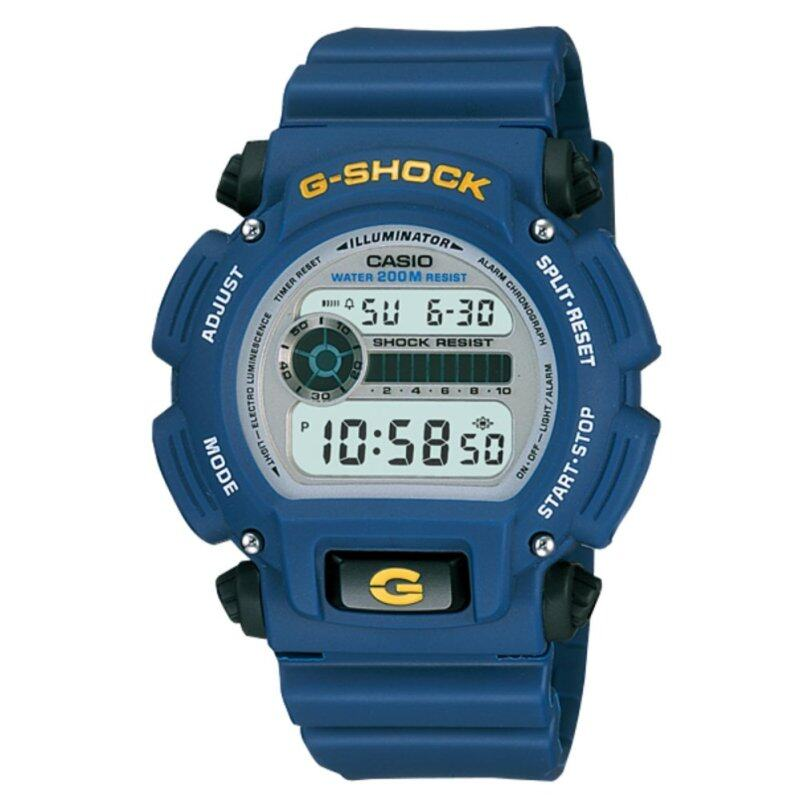 Casio G-shock DW-9052-2V Mens Watch (Blue) Malaysia