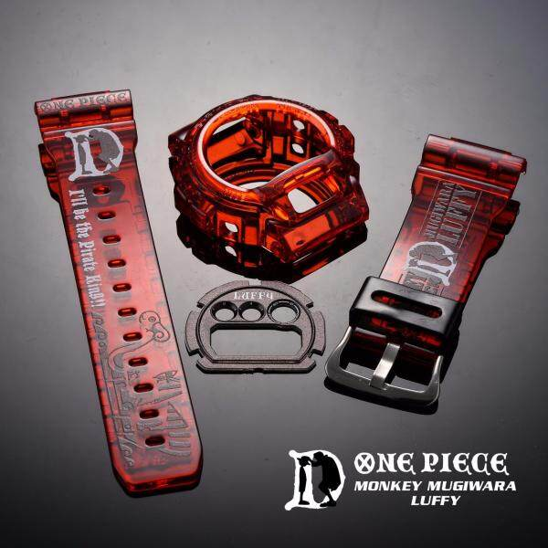 [LW13] DW6900 x ONE PIECE RED BAND AND BEZEL BNB Malaysia