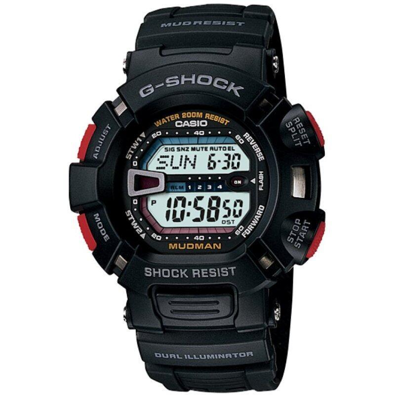 Casio G-shock G-9000-1V Mens watch (black) Malaysia