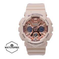 Casio G-Shock S Series for Women Light Pink Resin Band Watch GMAS120MF-4A 41e36a058c