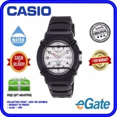 ( 2 YEARS WARRANTY ) Casio HDA-600B-7BV Kids & Men Luminous Analog Black Resin Strap Date Functioning Original Watch (HDA-600B) Malaysia