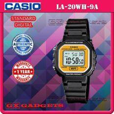 CASIO LA-20WH-9A STANDARD DIGITAL WATCH LED LIGHT ALARM STOPWATCH RESIN BAND LA-20WH SERIES Malaysia