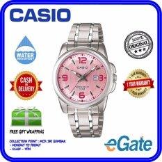ea1dc7137 (2 YEARS WARRANTY) Casio LTP-1314D-5AV Analog Women Luminous Pink Dial