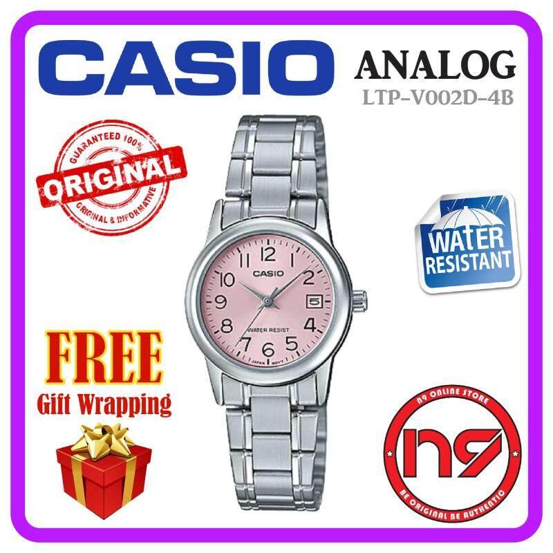 Casio LTP-V002D-4B Analog Women Ladies Watch Calendar Watches Jam Malaysia