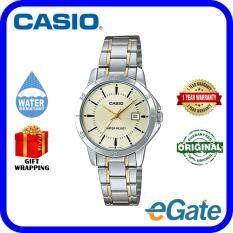 Casio LTP-V004SG-9A Analog Women Watch Silver Gold Original Malaysia