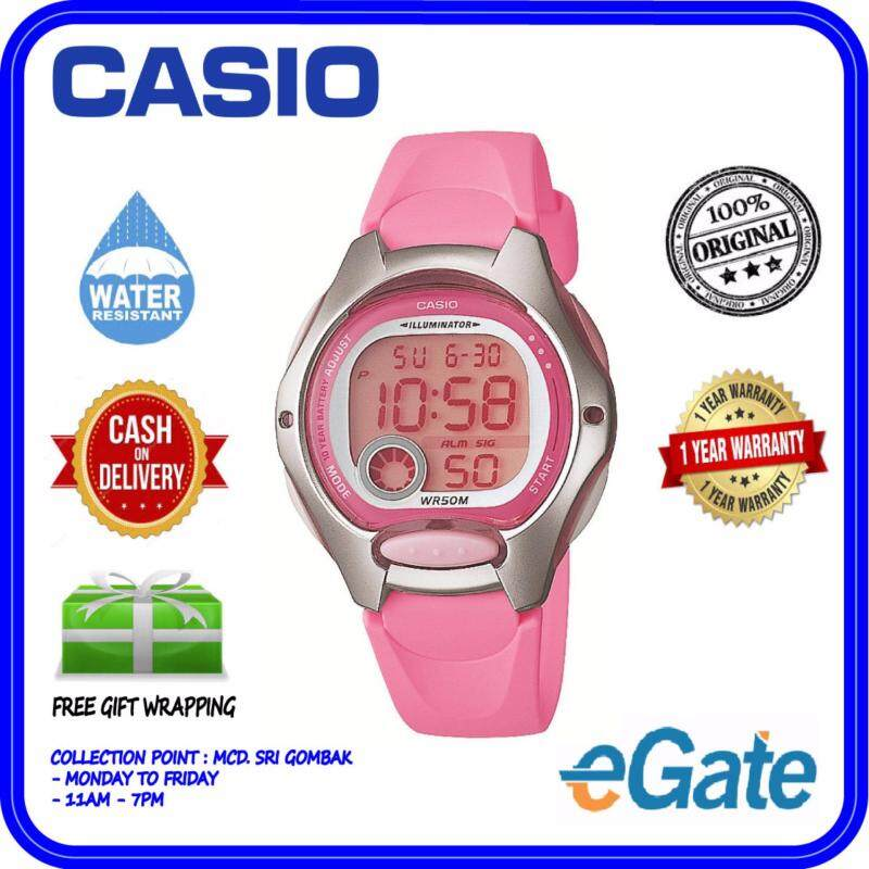 Casio LW-200-4BV Digital Unisex Watch Youth Timepieces Original Malaysia