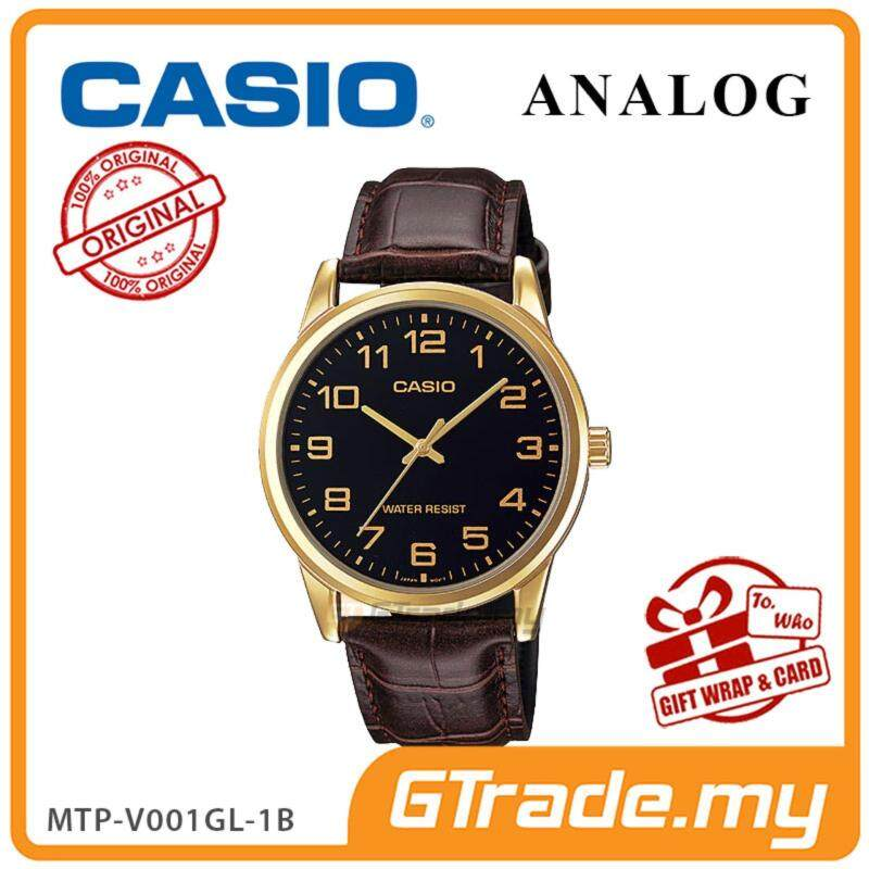 CASIO Men MTP-V001GL-1B Analog Watch | Simple Easy Concept Malaysia