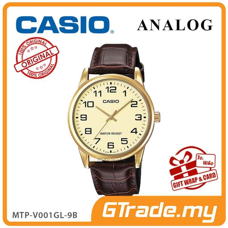 CASIO Men MTP-V001GL-9B Analog Watch  Simple Easy Concept Malaysia