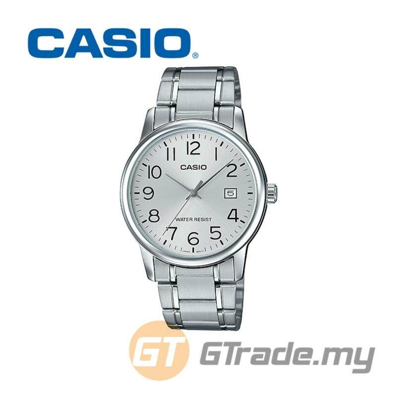 CASIO MEN MTP-V002D-7B Analog Watch | Date Display Simple Easy Malaysia