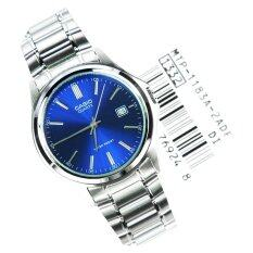 Casio MTP-1183A-2A Men Analog Water Resistant Blue Dial Stainless Steel Watch
