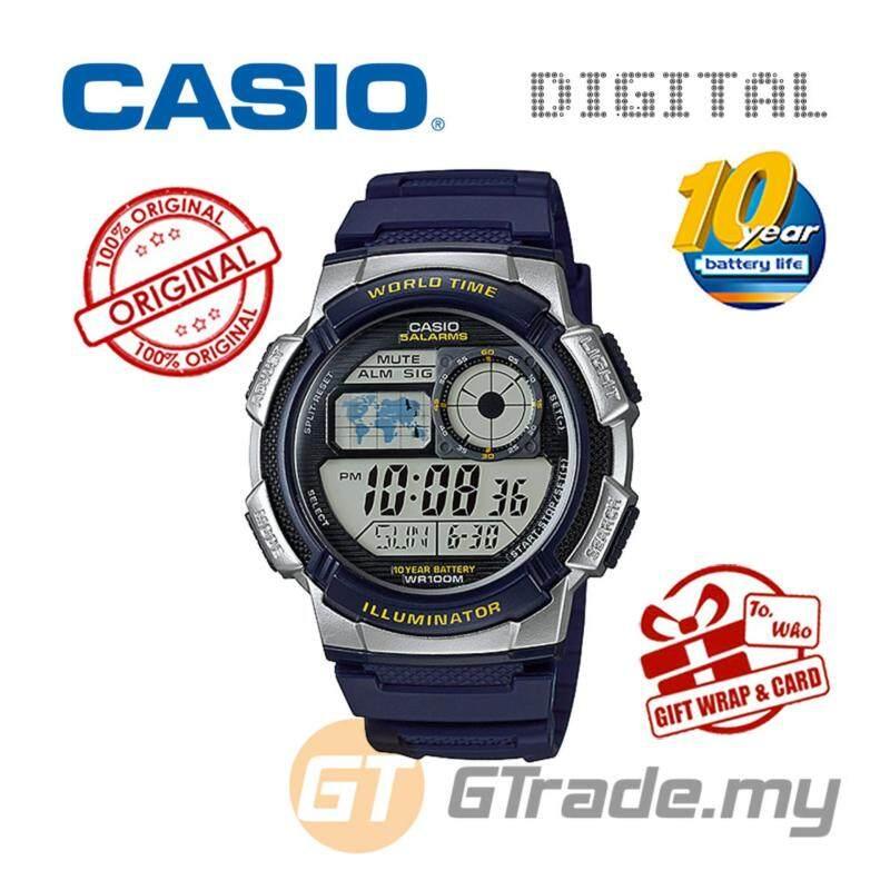 CASIO STANDARD AE-1000W-2AV Digital Watch - 10 Yrs Batt. WR100M Malaysia