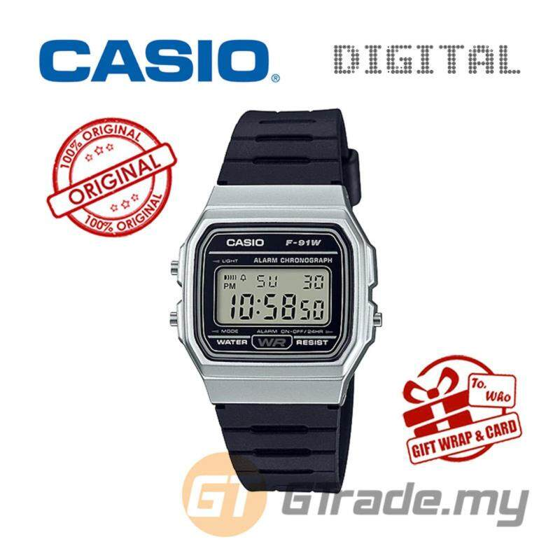 CASIO STANDARD F-91WM-7A Digital Watch | Classic Since 1991 Calendar Malaysia