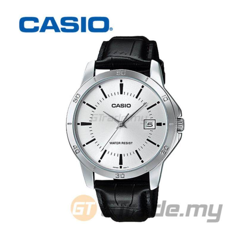 Casio Standard MTP-V004L-7AV Analog Mens Watch - Easy Leather Malaysia
