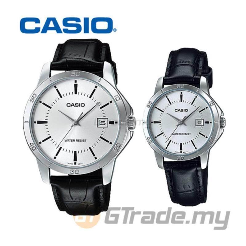 Casio Standard MTP-V004L-7AV + LTP-V004L-7AV Analog Couple Watch Malaysia