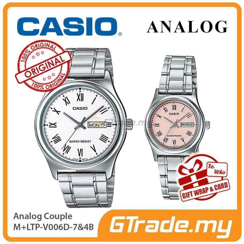 CASIO STANDARD MTP-V006D-7BV & LTP-V006D-4BV Analog Couple Watch Malaysia