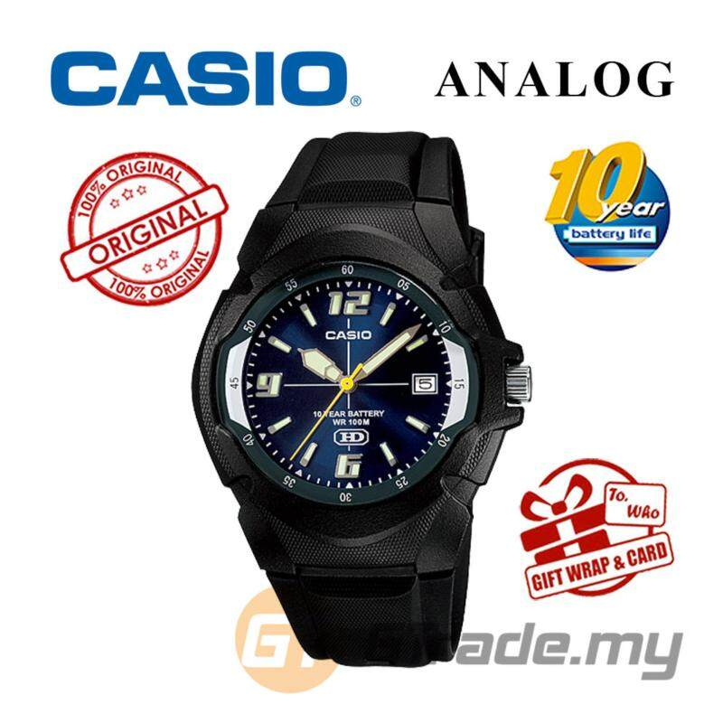 CASIO STANDARD MW-600F-2AV Analog Mens Watch - Resin 10 Yrs Batt. Malaysia