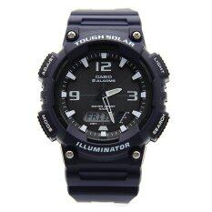 Casio Tough Solar Mens Blue Resin Strap Watch AQ-S810W-2A2 Malaysia