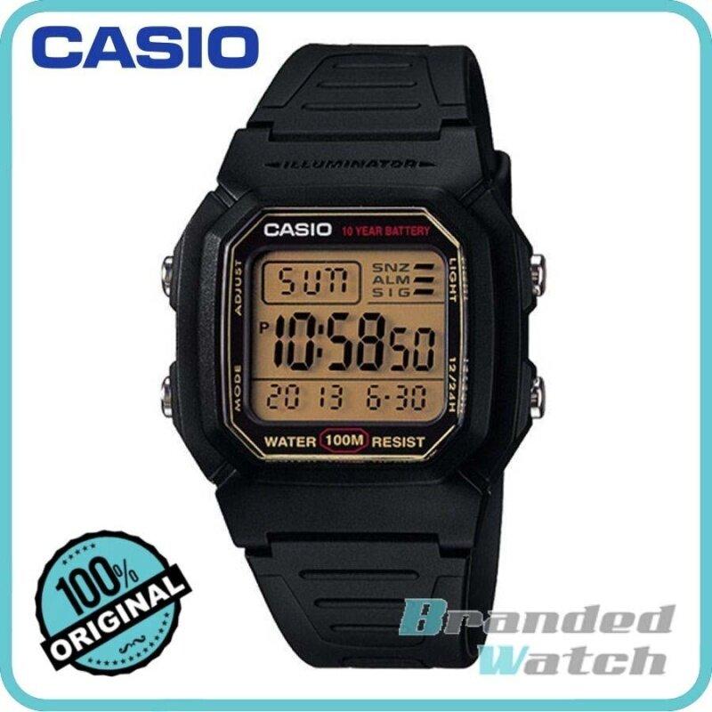 Casio W-800HG-9AVDF Unisex Standard Digital Resin Watch W-800HG-9AV Malaysia